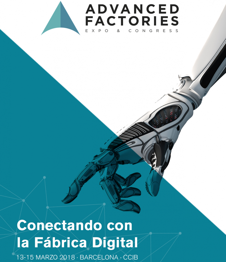 Congreso Advanced Factories 2018   50% descuento para colegiados
